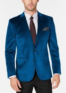 Kenneth Cole Reaction Men's Slim-Fit Velvet Sport Coat, Online Only