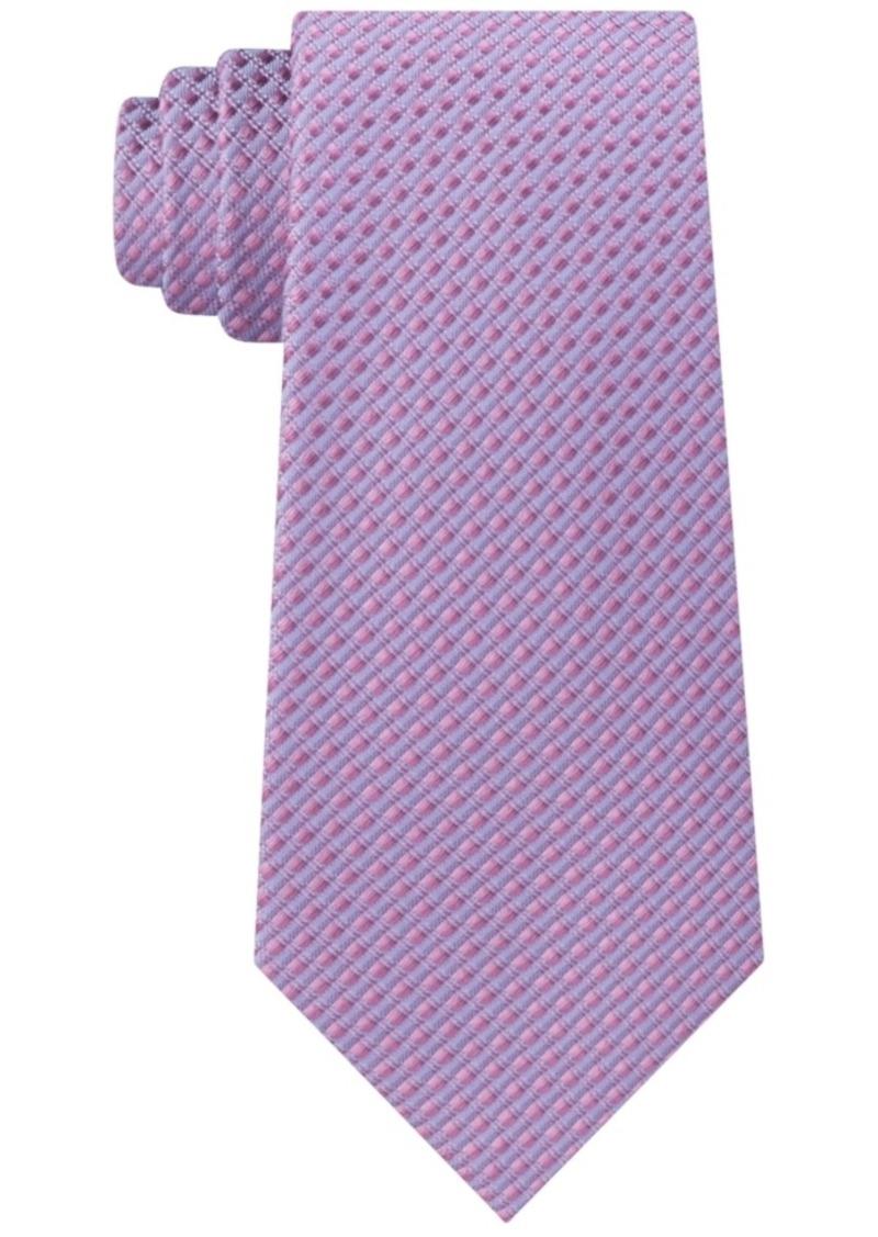 Kenneth Cole Reaction Men's Slim Texture Natte Tie