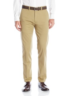 Kenneth Cole REACTION Men's Solid Stretch Eco Chino Flat Front Slim Fit Casual Pant  34x29