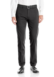 Kenneth Cole REACTION Men's Solid Stretch Eco Chino Flat Front Slim Fit Casual Pant  36x34