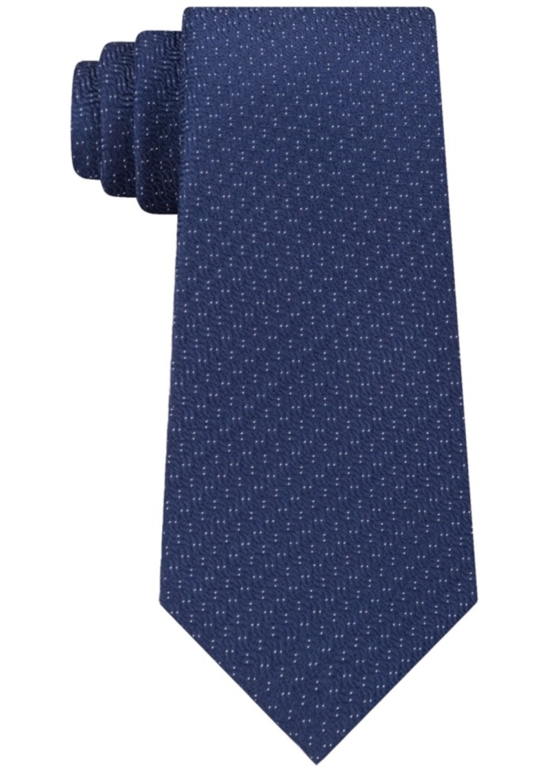 Kenneth Cole Reaction Men's Speckle Solid Slim Tie