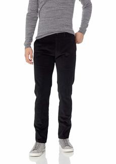Kenneth Cole REACTION Men's Stretch Corduroy Slim Fit Flat Front Casual Pant  36Wx32L