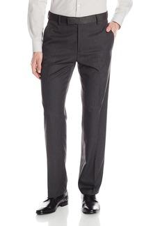 Kenneth Cole REACTION Men's Stripe Slim-Fit Flat-Front Pant  36Wx32L
