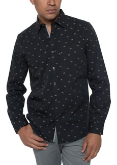 Kenneth Cole Reaction Men's Swallow Print Shirt