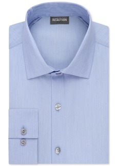Kenneth Cole Reaction Men's Tall Slim-Fit Techni-Cole Stretch Performance Dress Shirt