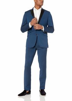 Kenneth Cole REACTION Men's Techni-Cole Slim Fit Stretch Tuxedo  42 Long