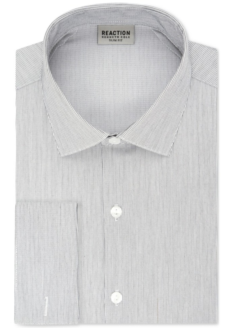 Luxury Silk cotton Double French Cuff Mens Shirts Slim Business Shirts CS332