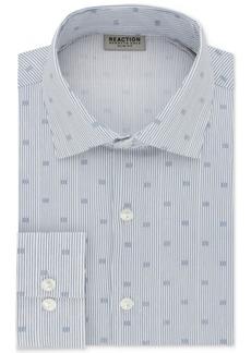 Kenneth Cole Reaction Men's Technicole Slim-Fit Stretch Broadcloth Dress Shirt