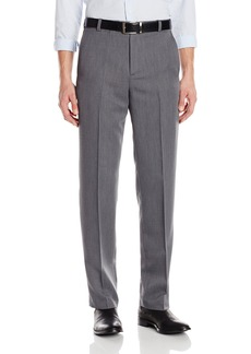 Kenneth Cole Reaction Mens Textured Stria Flat Front Pant