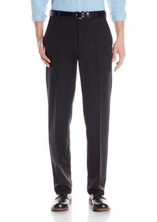 Kenneth Cole Reaction Men's Textured Stria Flat Front Pant  32x29