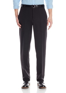Kenneth Cole Reaction Men's Textured Stria Flat Front Pant  34x32