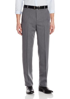 Kenneth Cole Reaction Mens Textured Stria Flat Front Pant  42x32