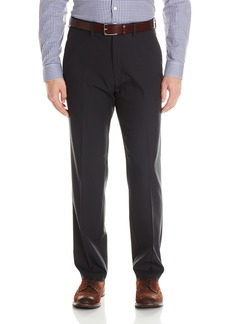 Kenneth Cole Reaction Men's Twill Stretch Modern Fit Flat Front Pant  34x30