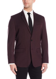 Kenneth Cole REACTION Men's Two-Button Regular Blazer