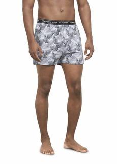 Kenneth Cole REACTION Men's Underwear Cotton Spandex Knit Boxer Brief Multipack  XL