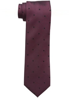 Kenneth Cole REACTION Men's Veloutine Dot Tie
