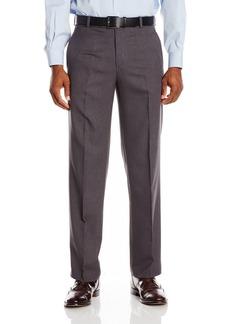 Kenneth Cole Reaction Men's Vertical Texture Modern Fit Flat Front Pant  32x29