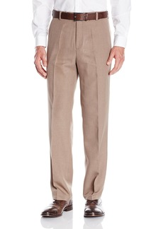 Kenneth Cole REACTION Men's Vertical Texture Modern-Fit Flat-Front Pant  30x30