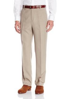 Kenneth Cole REACTION Men's Vertical Texture Modern Fit Flat Front Pant  38x29