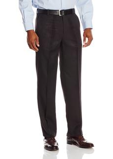 Kenneth Cole Reaction Men's Vertical Texture Modern Fit Flat Front Pant  38x32