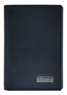 Kenneth Cole REACTION Men's Wallet-RFID Leather Slim Trifold with ID Window and Card Slots
