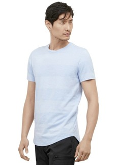 Kenneth Cole REACTION Men's Wide Stripe Crew