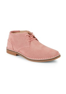 Kenneth Cole REACTION Perforated Leather Desert Boots