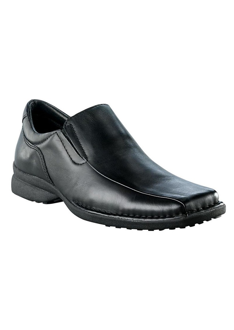 KENNETH COLE REACTION Punchual Casual Leather Slip-On Shoes