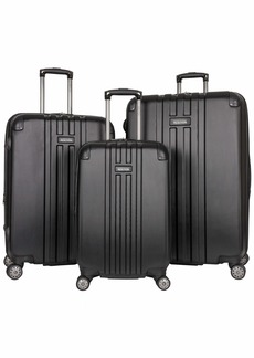 """Kenneth Cole Reaction Reverb Hardside 8-Wheel 3-Piece Spinner Luggage Set: 20"""" Carry-on 24"""" 28"""""""