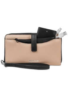 Kenneth Cole Reaction Right Angles Tab Tech Wristlet with Charger