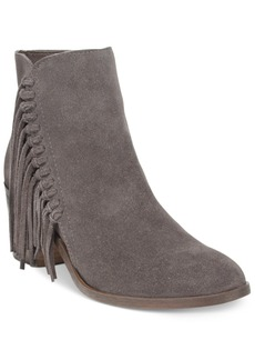 Kenneth Cole Reaction Rotini Fringe Ankle Booties Women's Shoes