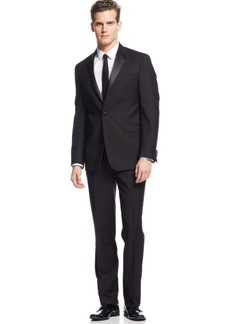 Kenneth Cole Reaction Slim-Fit Black Tuxedo