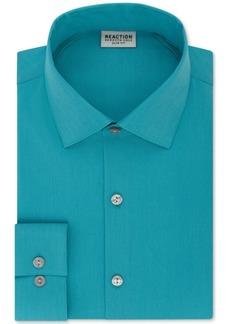 Kenneth Cole Reaction Slim-Fit Techni-Cole Flex Collar Solid Dress Shirt