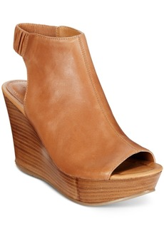 Kenneth Cole Reaction Sole Chick Platform Wedge Sandals Women's Shoes