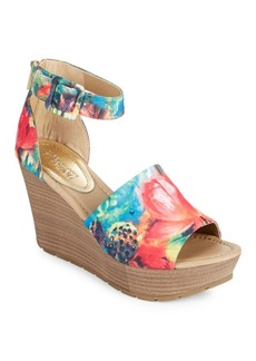 Kenneth Cole REACTION Sole Quest Textile Wedge Sandals