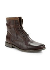 KENNETH COLE REACTION Steer The Wheel Leather Boots