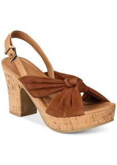 Kenneth Cole Reaction Tole Booth Platform Slingback Sandals Women's Shoes