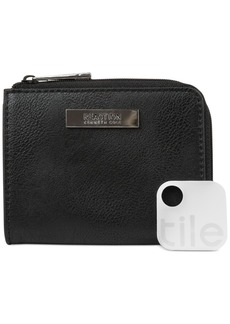 Kenneth Cole Reaction Top Zip Coin Purse with Tracker
