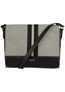 Kenneth Cole Reaction True Stripe Medium Messenger Bag