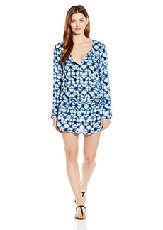 Kenneth Cole Reaction Women's -Go Drawstring Tunic Cover Up