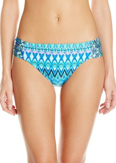 Kenneth Cole Reaction Women's Beyond The Sea Sash Tab Bikini Bottom