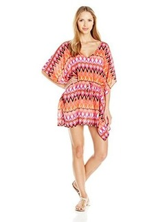 Kenneth Cole Reaction Women's Beyond The Sea Tunic Coverup