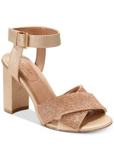 Kenneth Cole Reaction Women's Crash Jewel Embellished Dress Sandals Women's Shoes