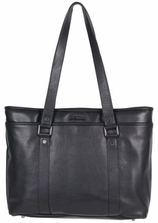 """Kenneth Cole Reaction Women's Downtown Darling Leather Single Compartment 16"""" Laptop Tote"""