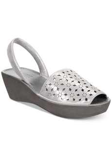 Kenneth Cole Reaction Women's Fine Glass Platform Wedge Sandals Women's Shoes