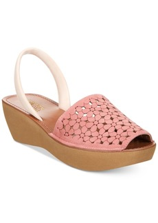 Kenneth Cole Reaction Women's Fine Glass Platform Wedge Sandals Women's Shoes
