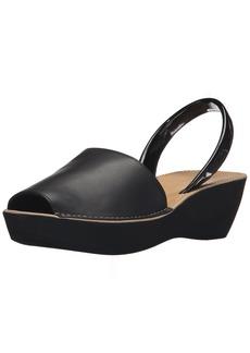 Kenneth Cole REACTION Women's Fine Glass Wedge Sandal  8 M US
