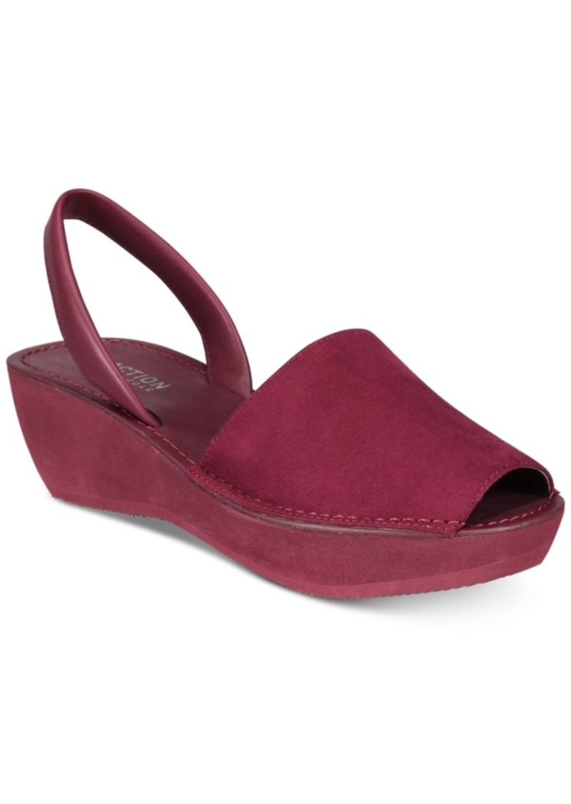 6034f119e018 Kenneth Cole Kenneth Cole Reaction Women s Fine Glass Wedge Sandals ...