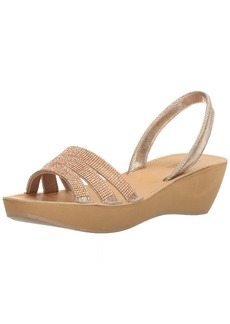 Kenneth Cole REACTION Women's Fine Jewel Platform Sandal   M US