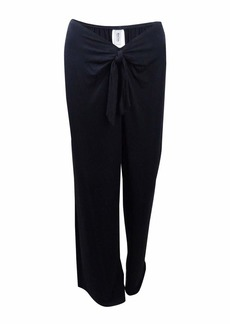 Kenneth Cole REACTION Women's Frenchie Solid Tie Front Pant Cover Up
